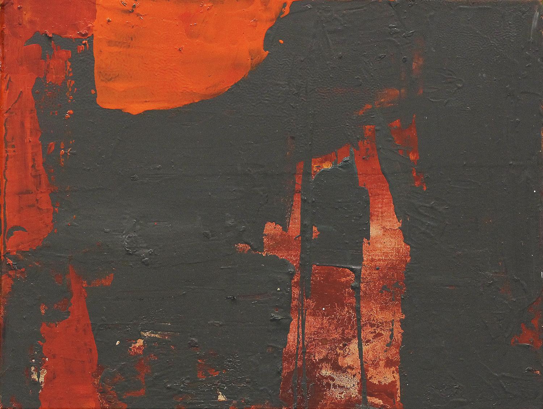 """Towards a fiction.  Oil on canvas.    12"""" x 16"""". 2012"""