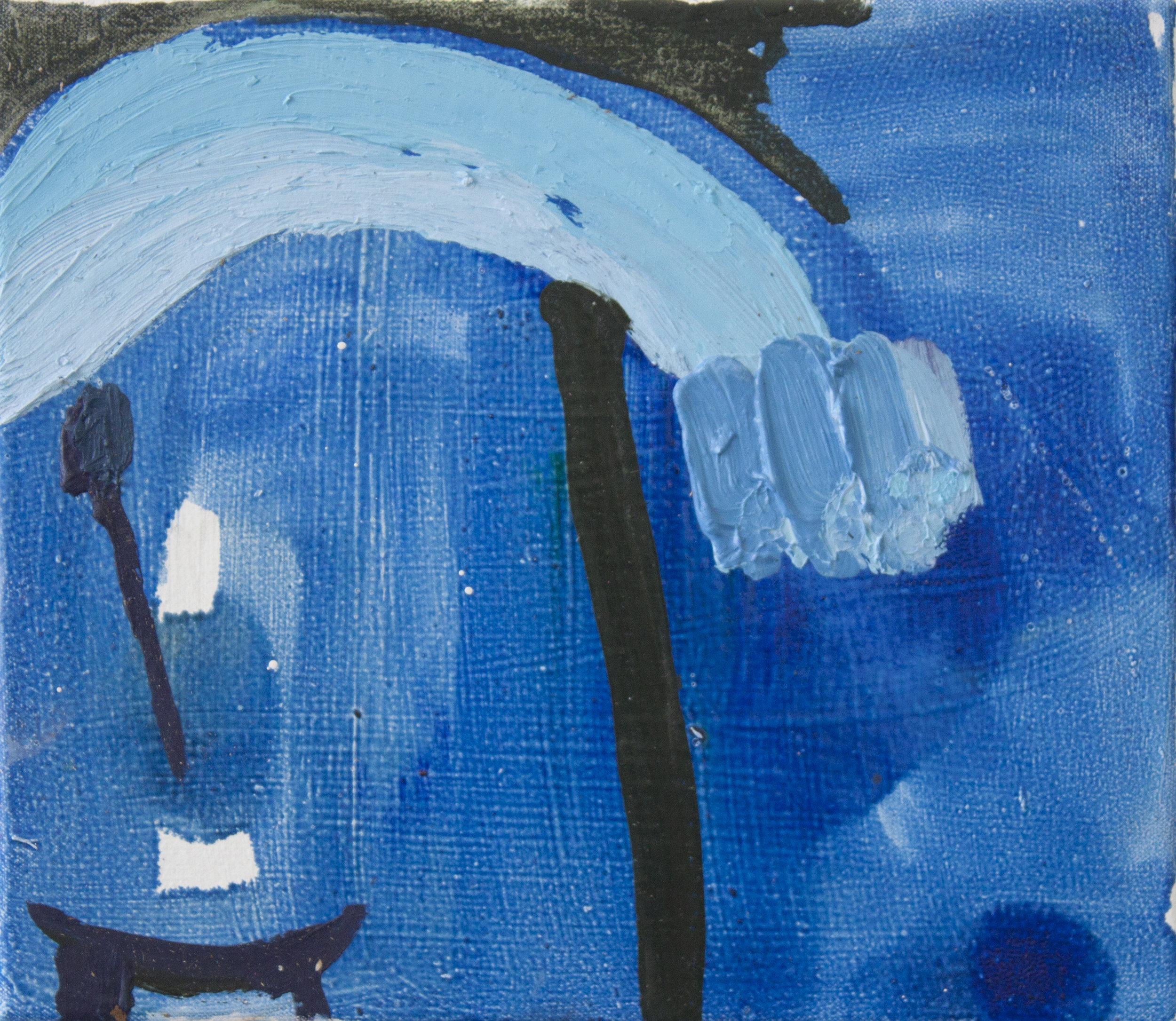 """Passive Magic.  Oil on canvas.    11"""" x 13"""". 2013."""
