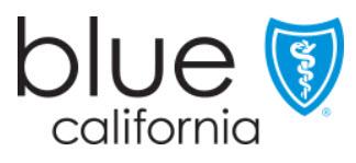 Blue California