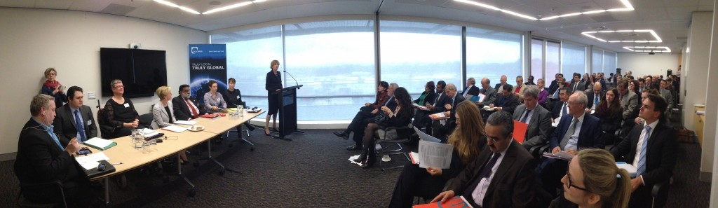 UPR Briefing event in Canberra