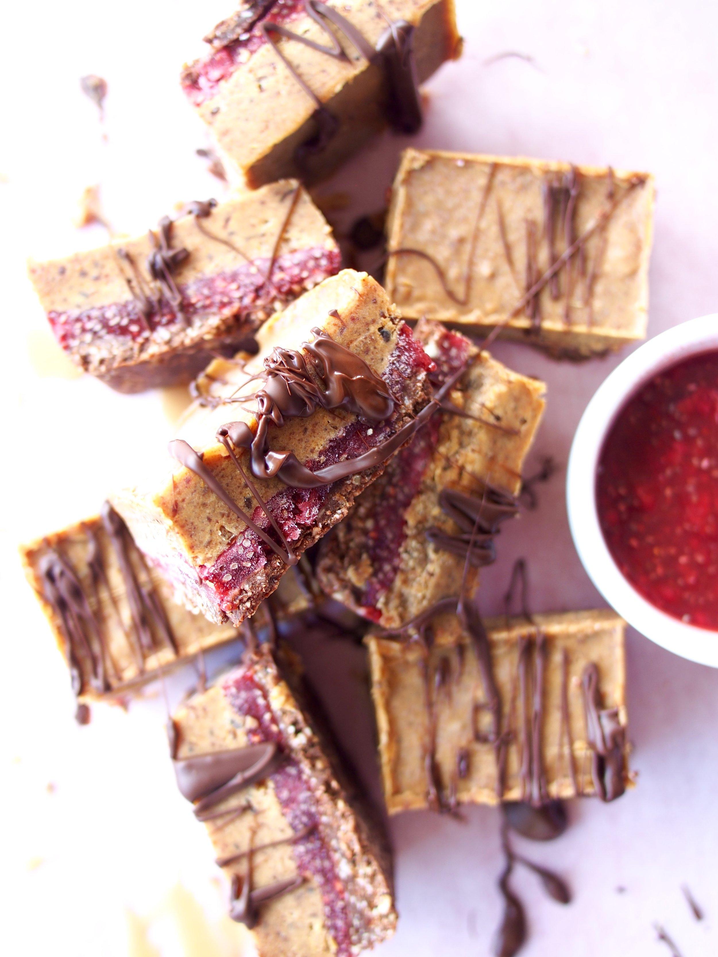 PB+Jam Cheesecake