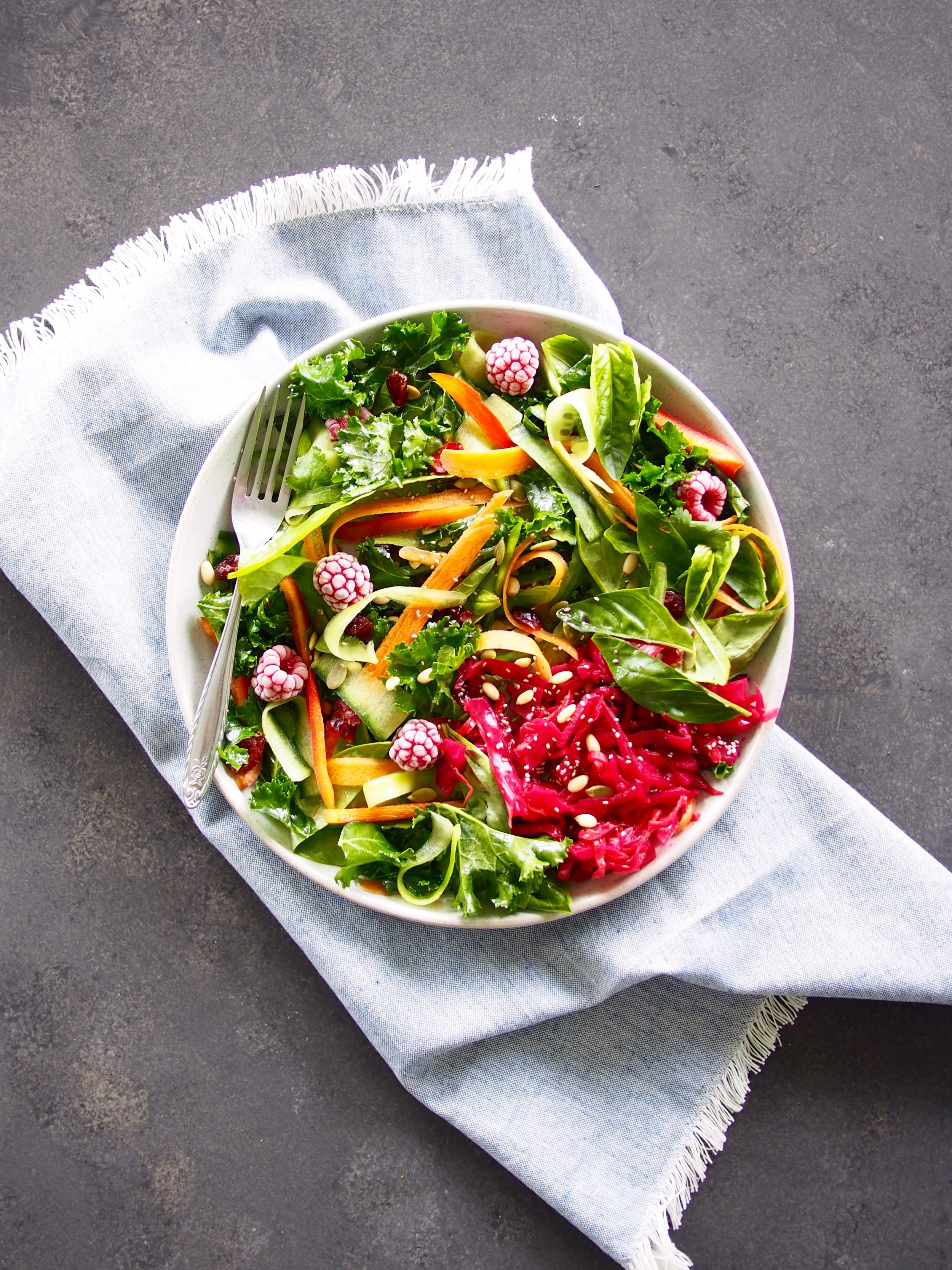 Salad Food Photography - Health Food Project