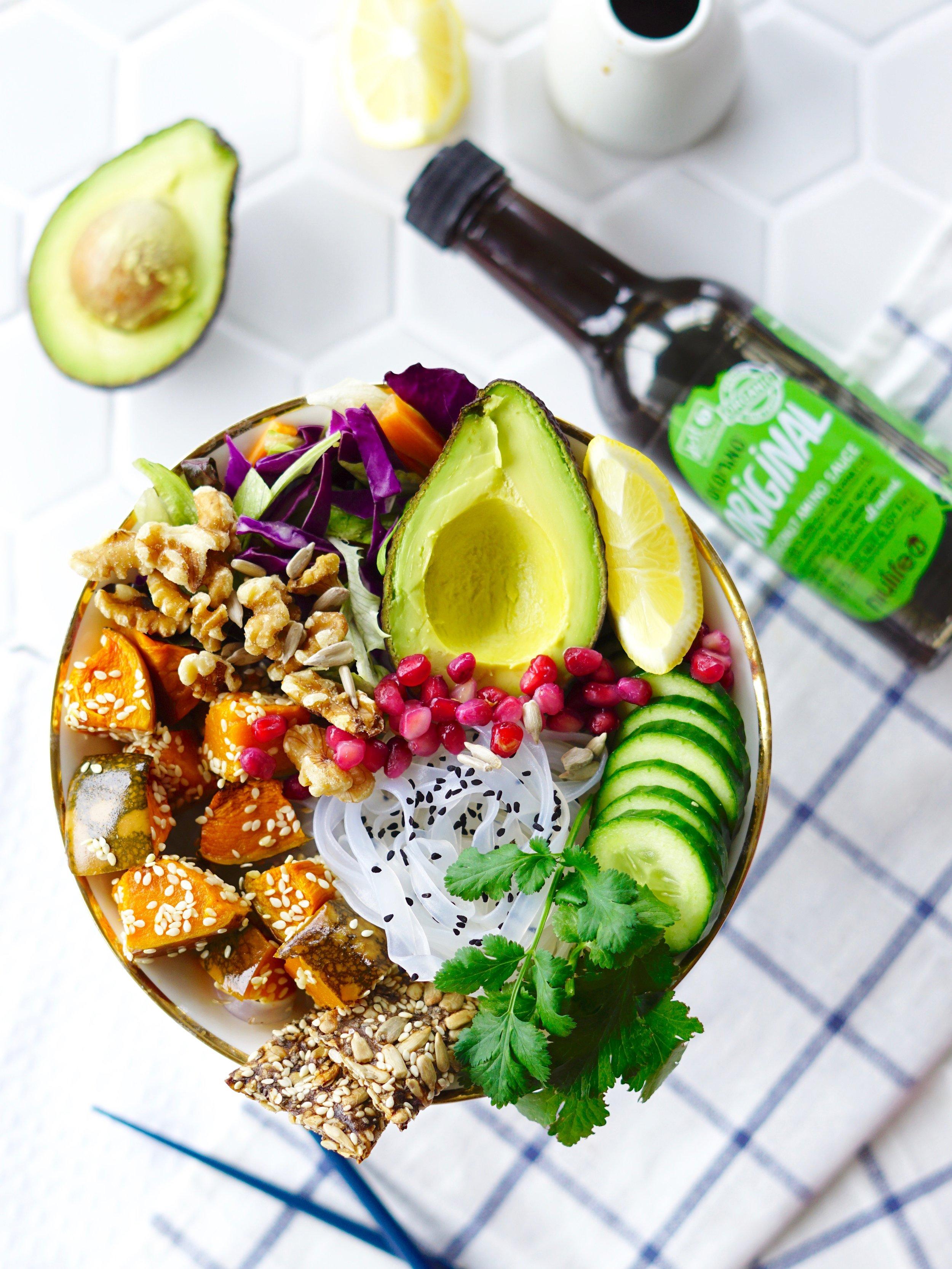 Lemon Ginger Nourish Bowl Health Food Project