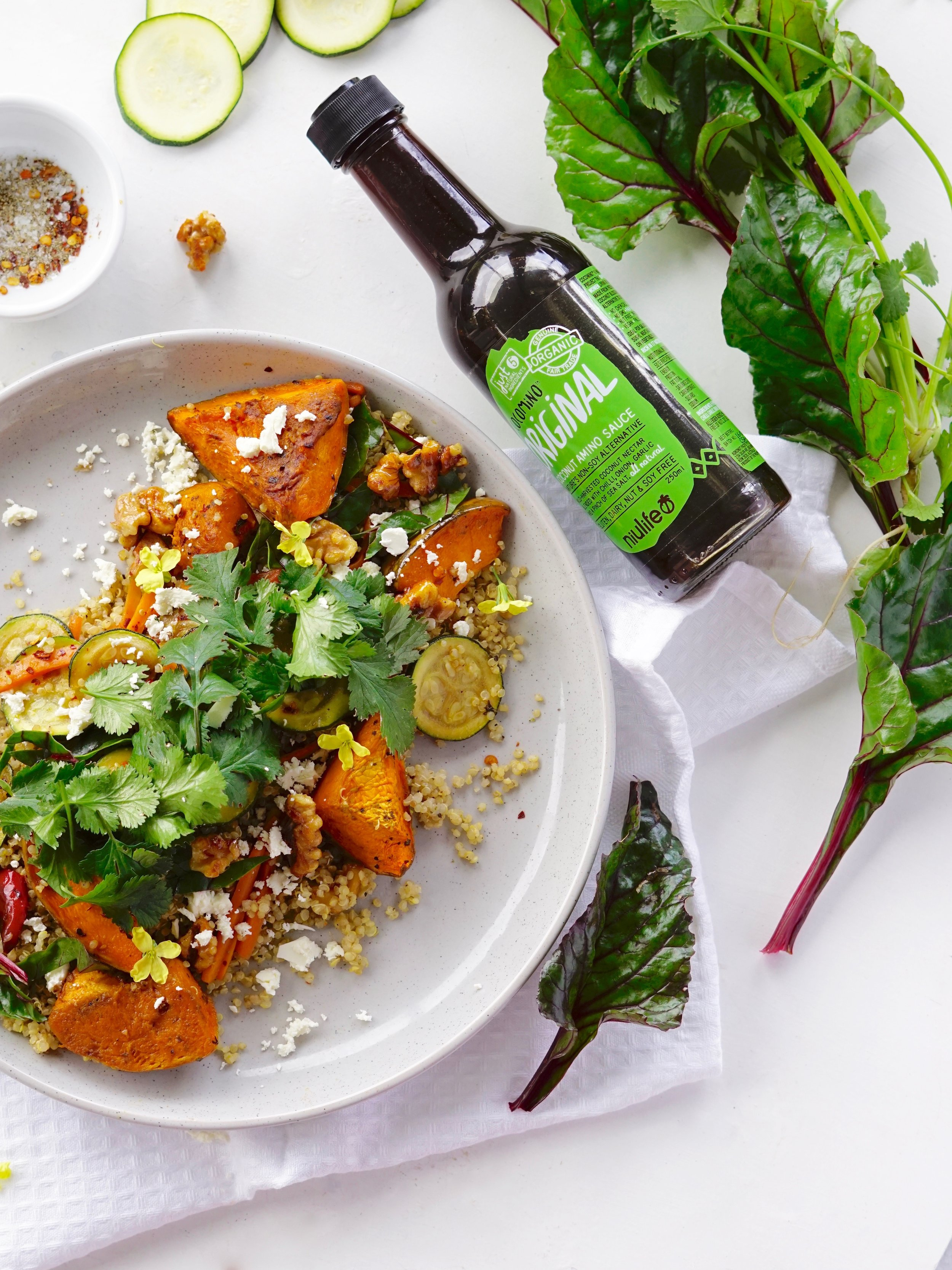 Spiced Quinoa Salad Food Photography Health Food Project