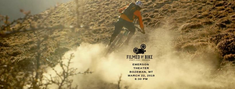 Filmed By Bike, March 22 at the Emerson Theater.