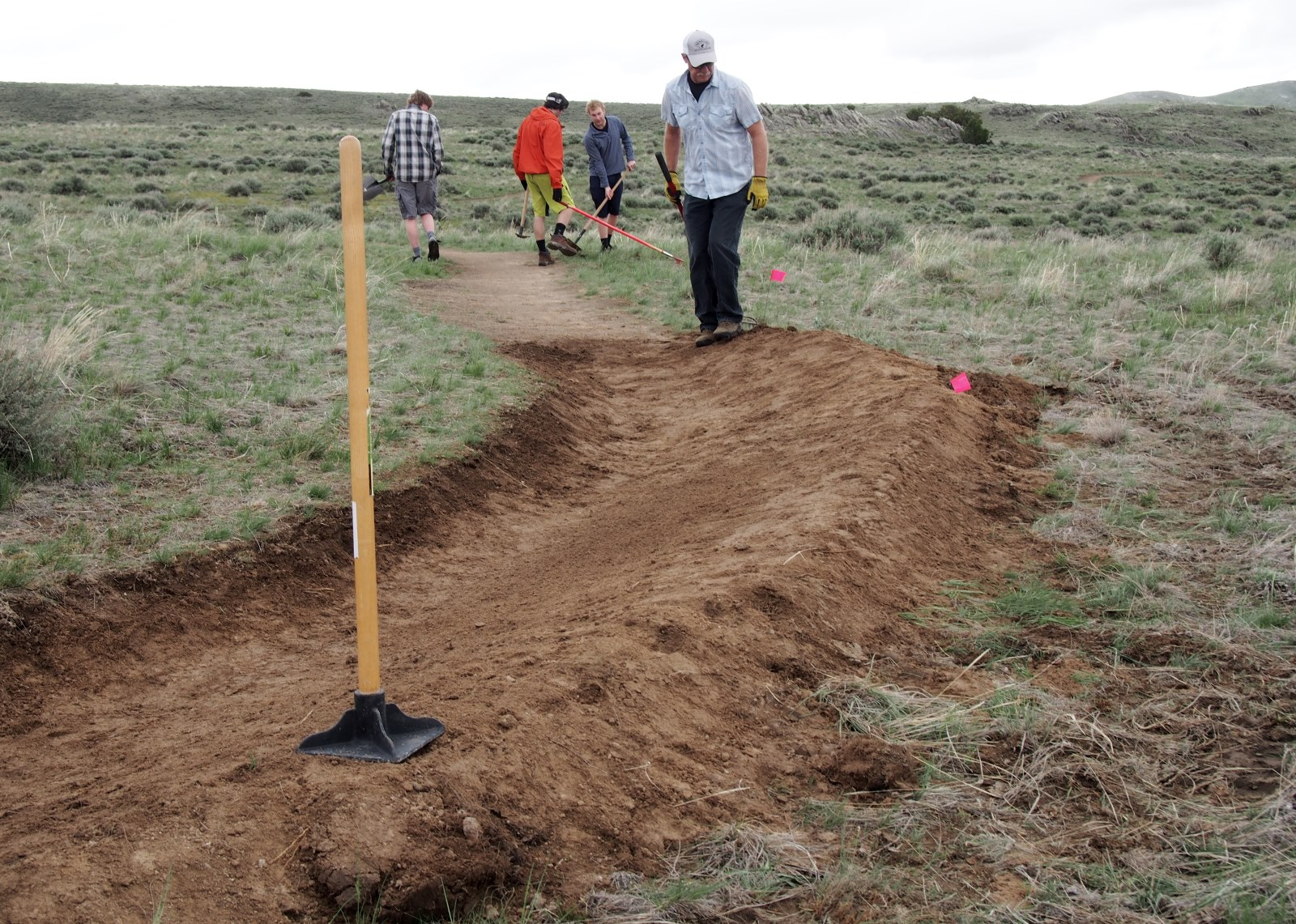 Join us for a trail-work day this spring.
