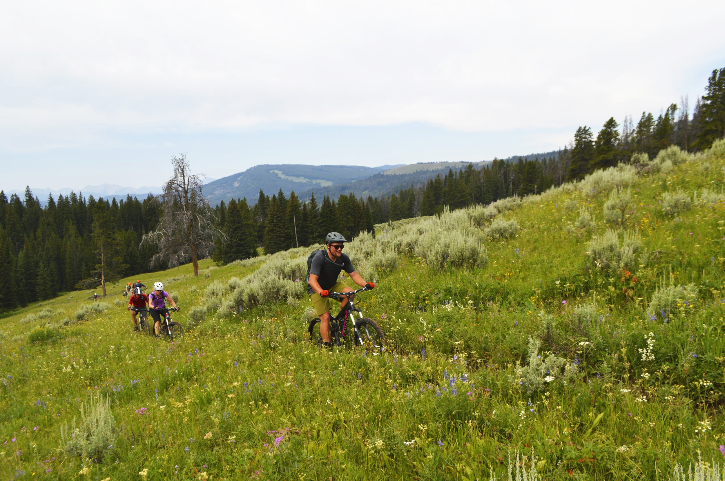 Group rides: one benefit of membership.