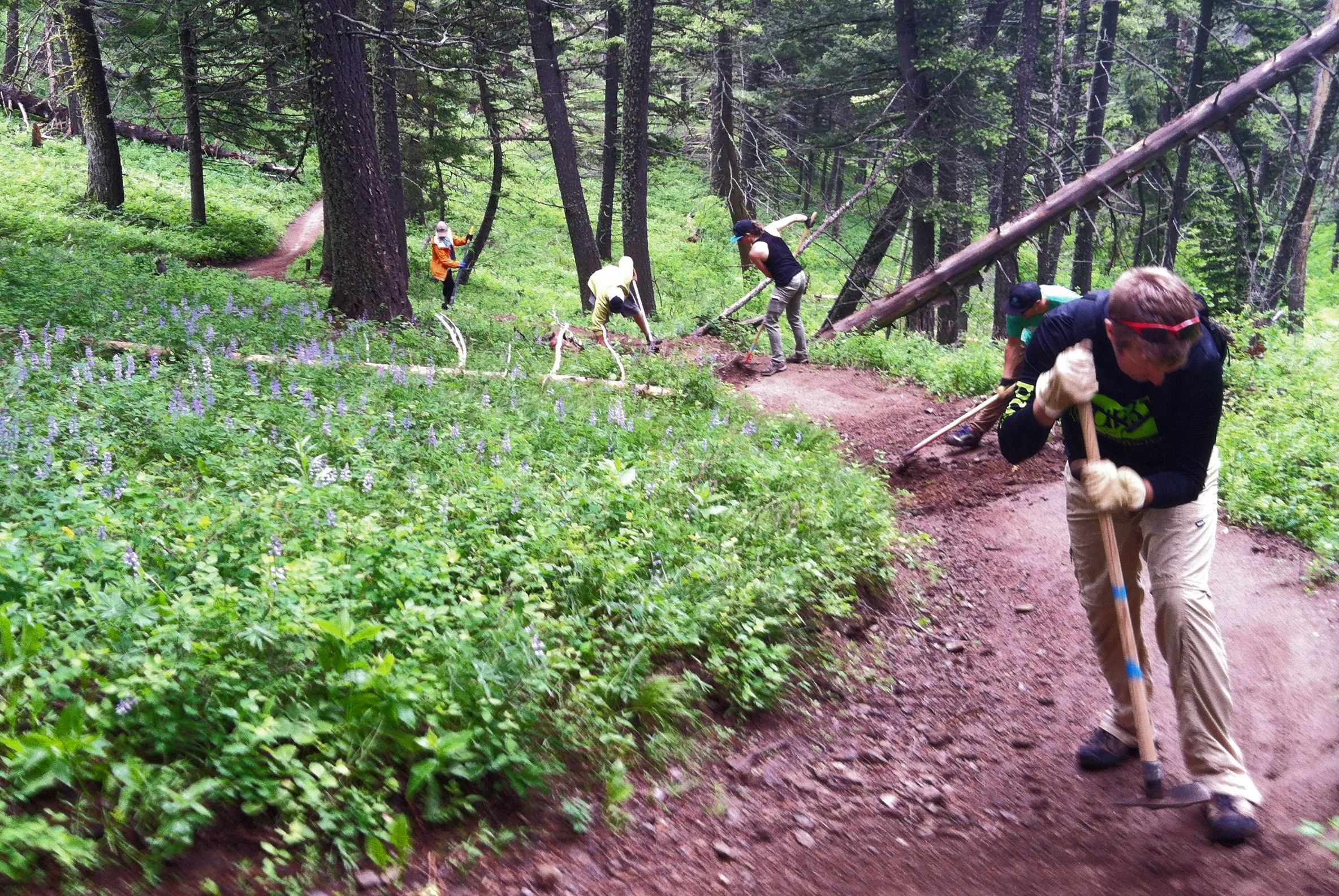 Bangtail Divide Trail-Work Day