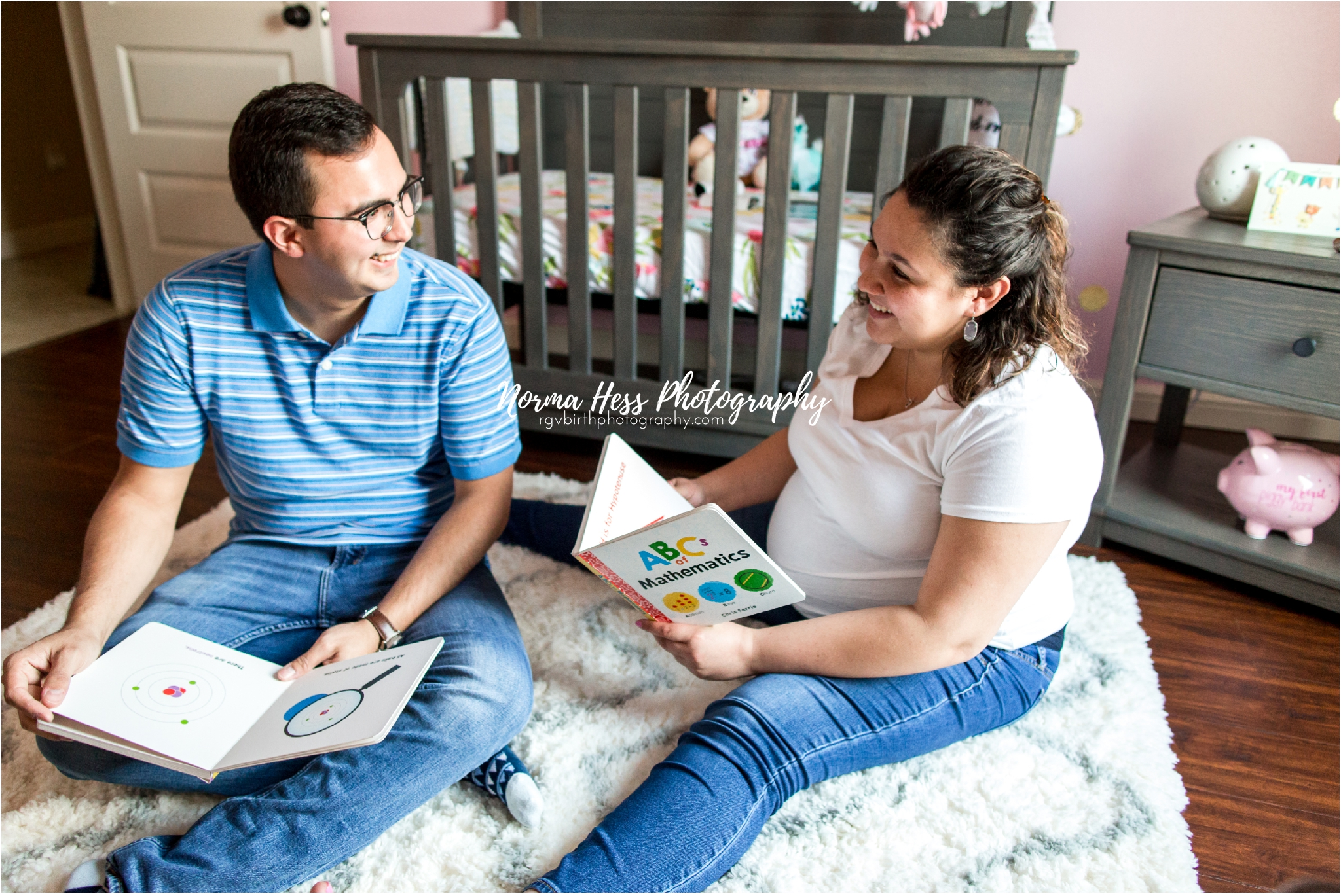 In-home maternity photos by Norma Hess Photography | Document your family's love story today | Serving McAllen, Texas and surrounding areas.