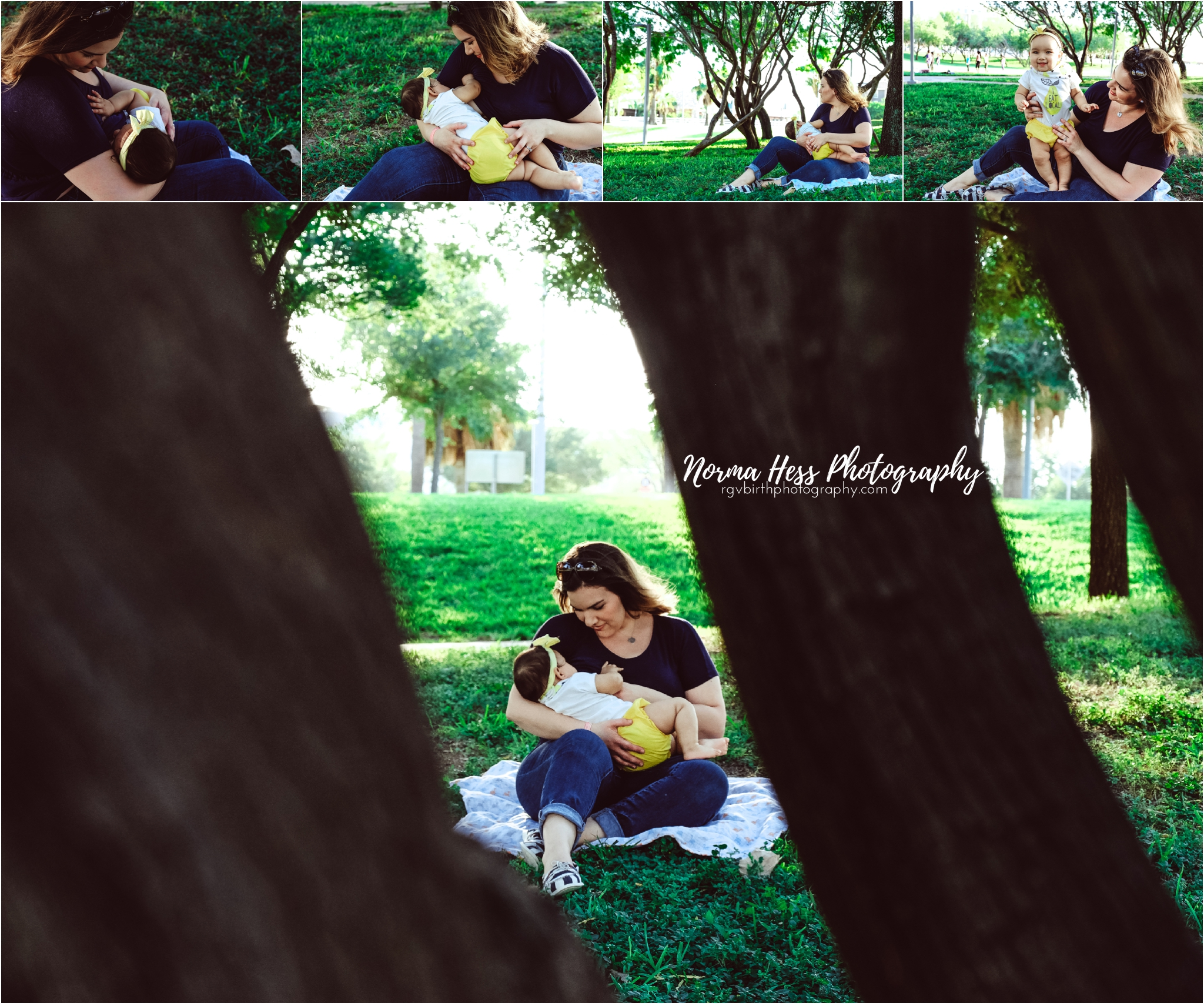 Breastfeeding Photos by Norma Hess Photography in McAllen, TX