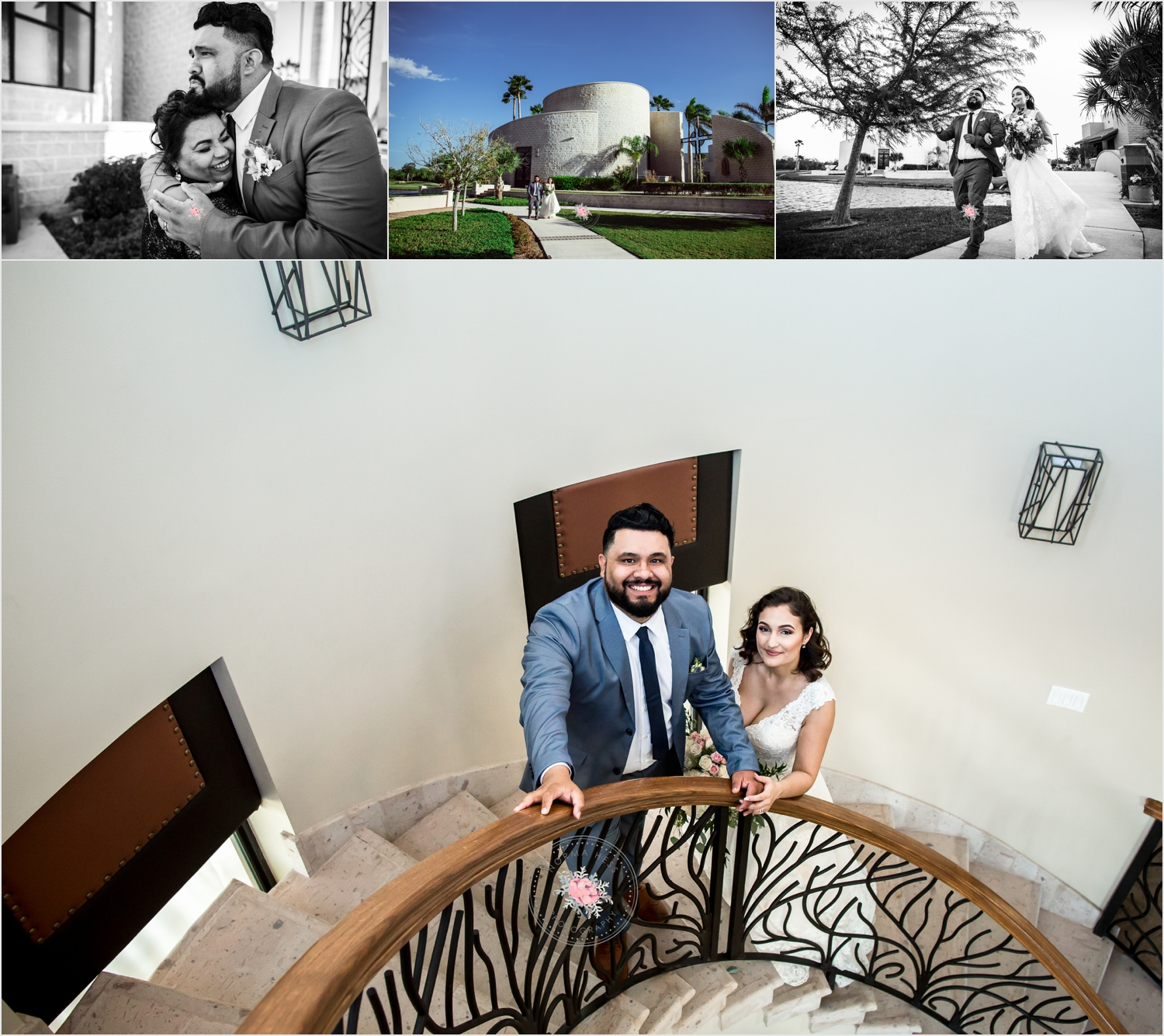 Candid Wedding Photos captured by Norma Hess Photography | Sentimental Wedding Edinburg, TX