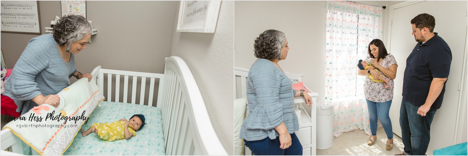 Including Grandma in your photo session is easy with in-home photo sessions! | Photo by Norma Hess sojourningbirth.com