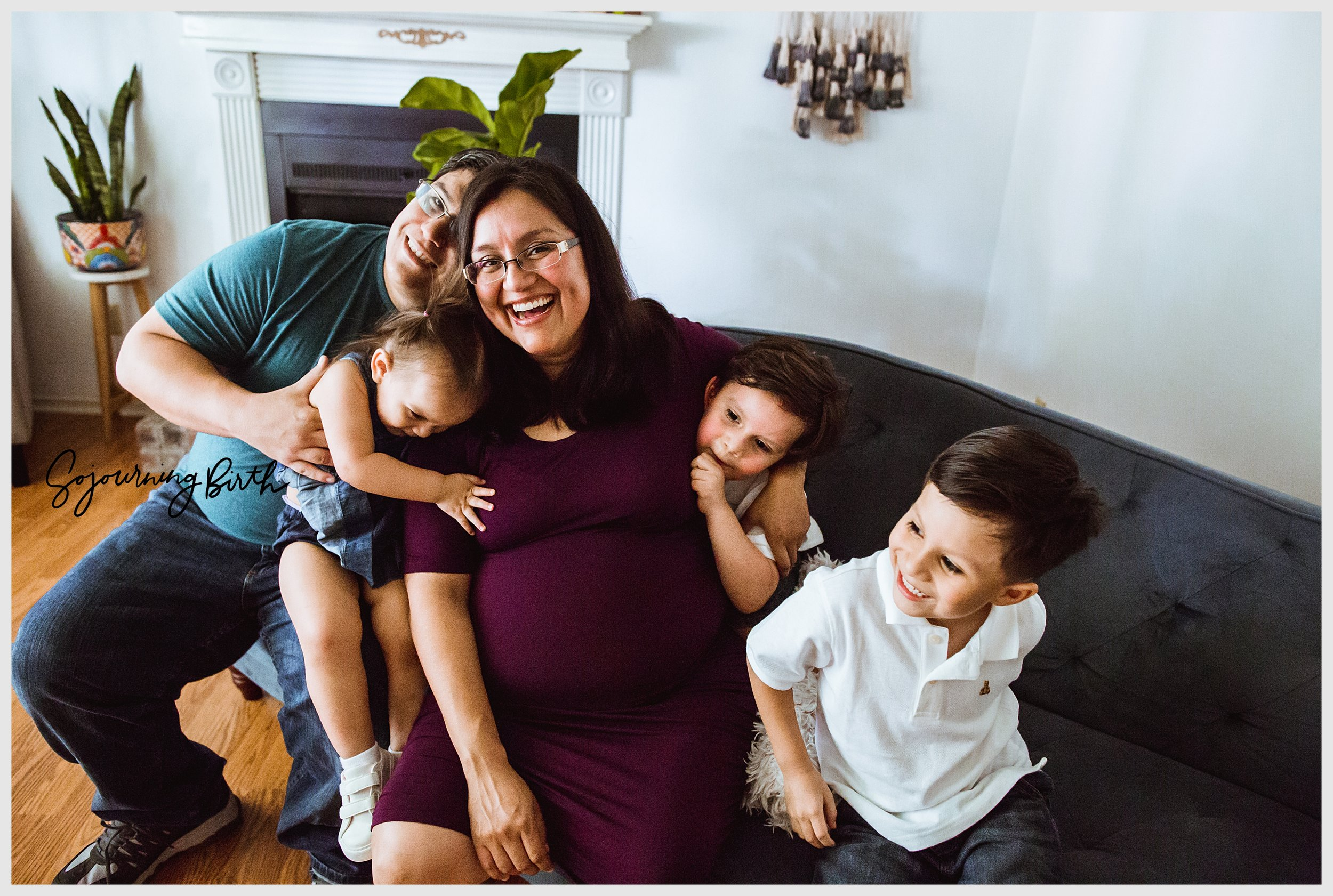Real motherhood moments. Photo by: Norma Hess at Sojourning Birth | McAllen Family Photographer
