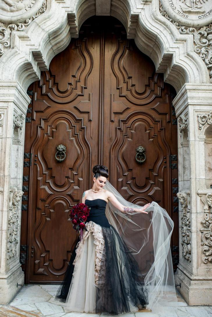 Alternative Halloween Wedding