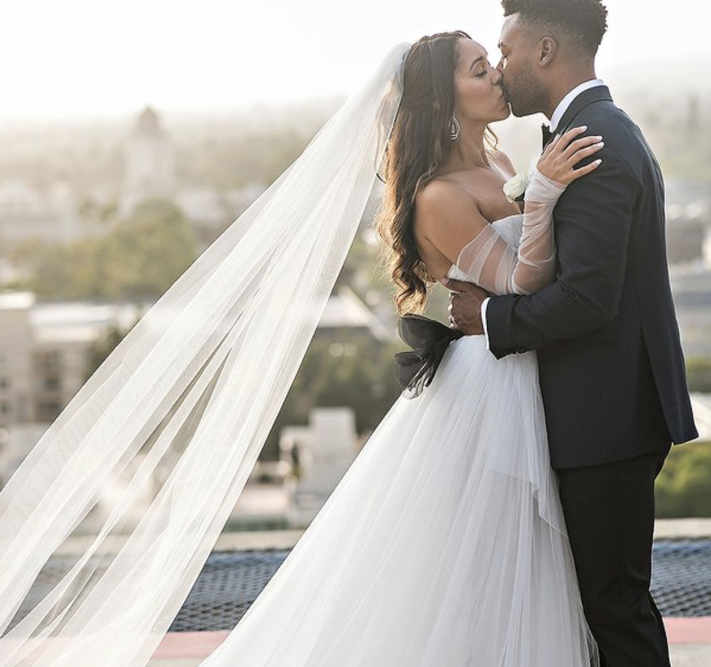 One Couple Planned a Stylish Black-and-White Wedding in Los Angeles