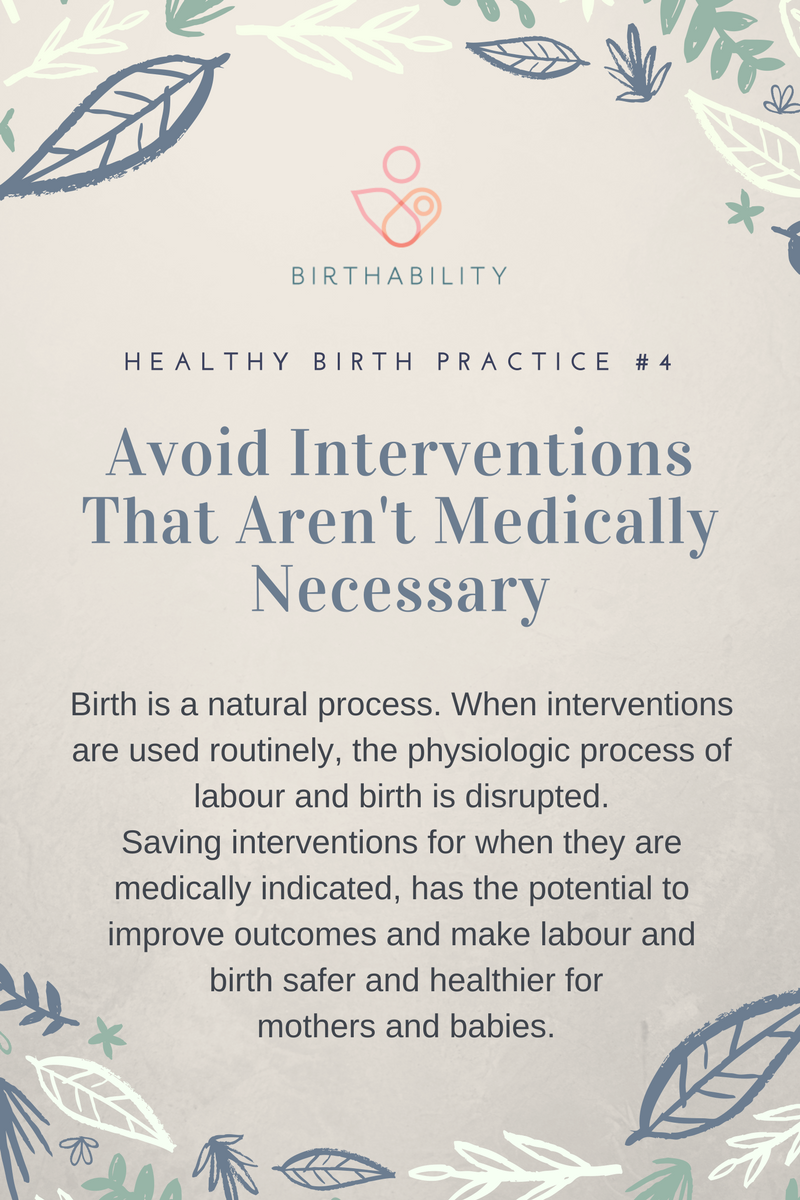 Healthy Birth #4