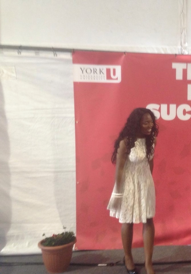 Taking a photo in-front of a York University background, makes me successful right?