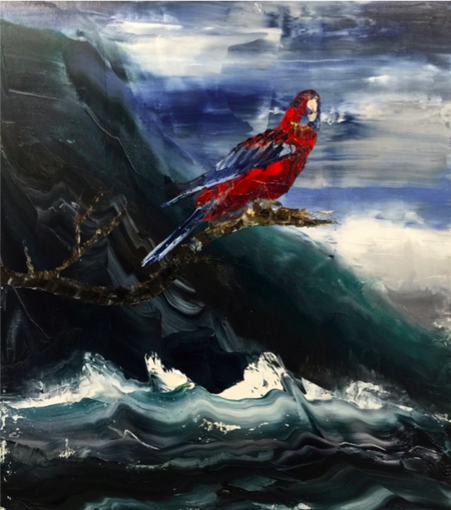 Rosella Thirroul 2016 81 x 71cm Oil on Linen