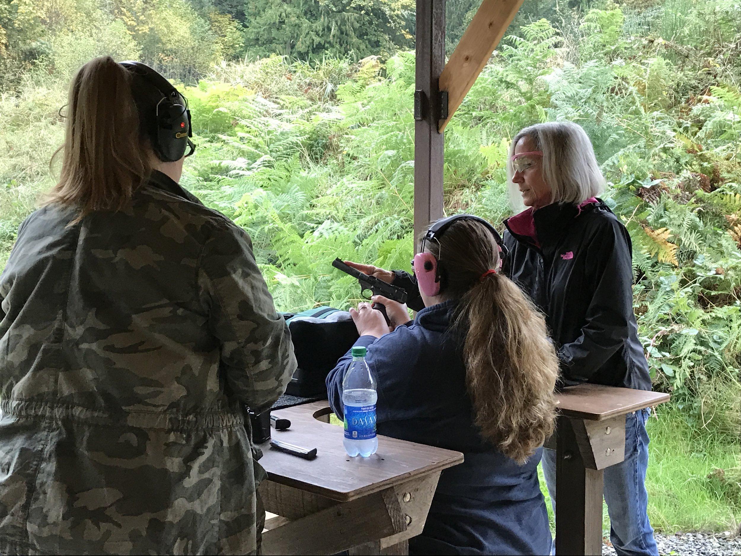 puyallup washington gun training