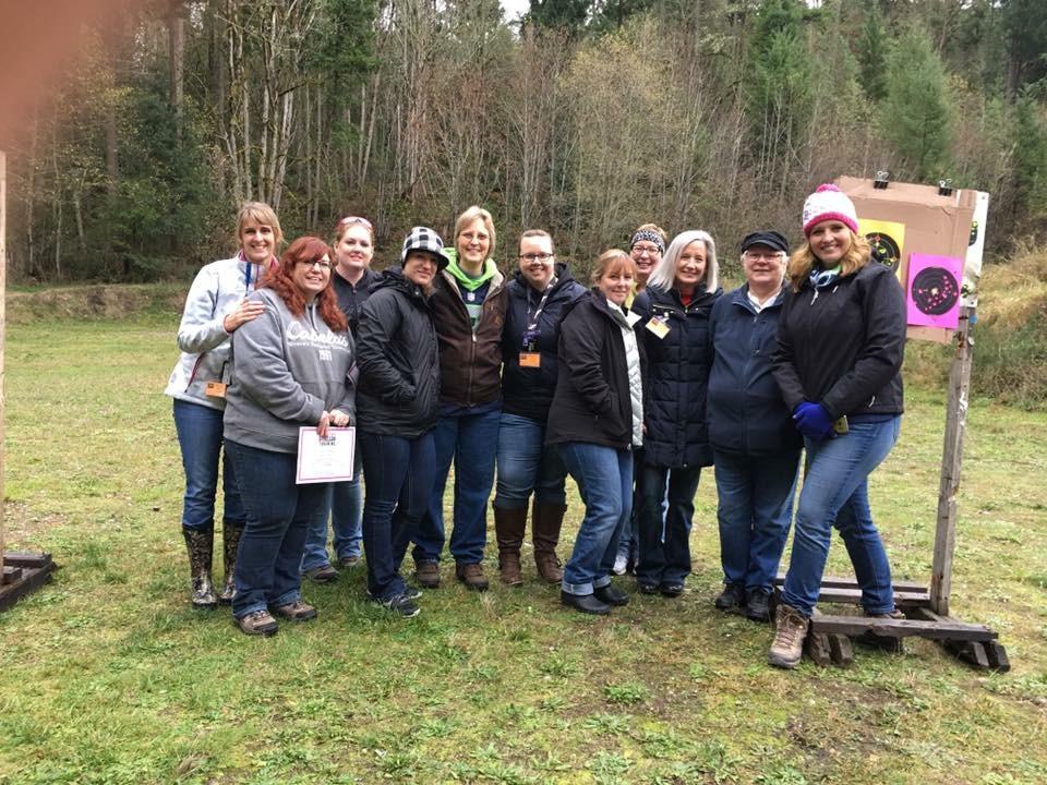 ladies shooting targets tacoma puyallup south sound