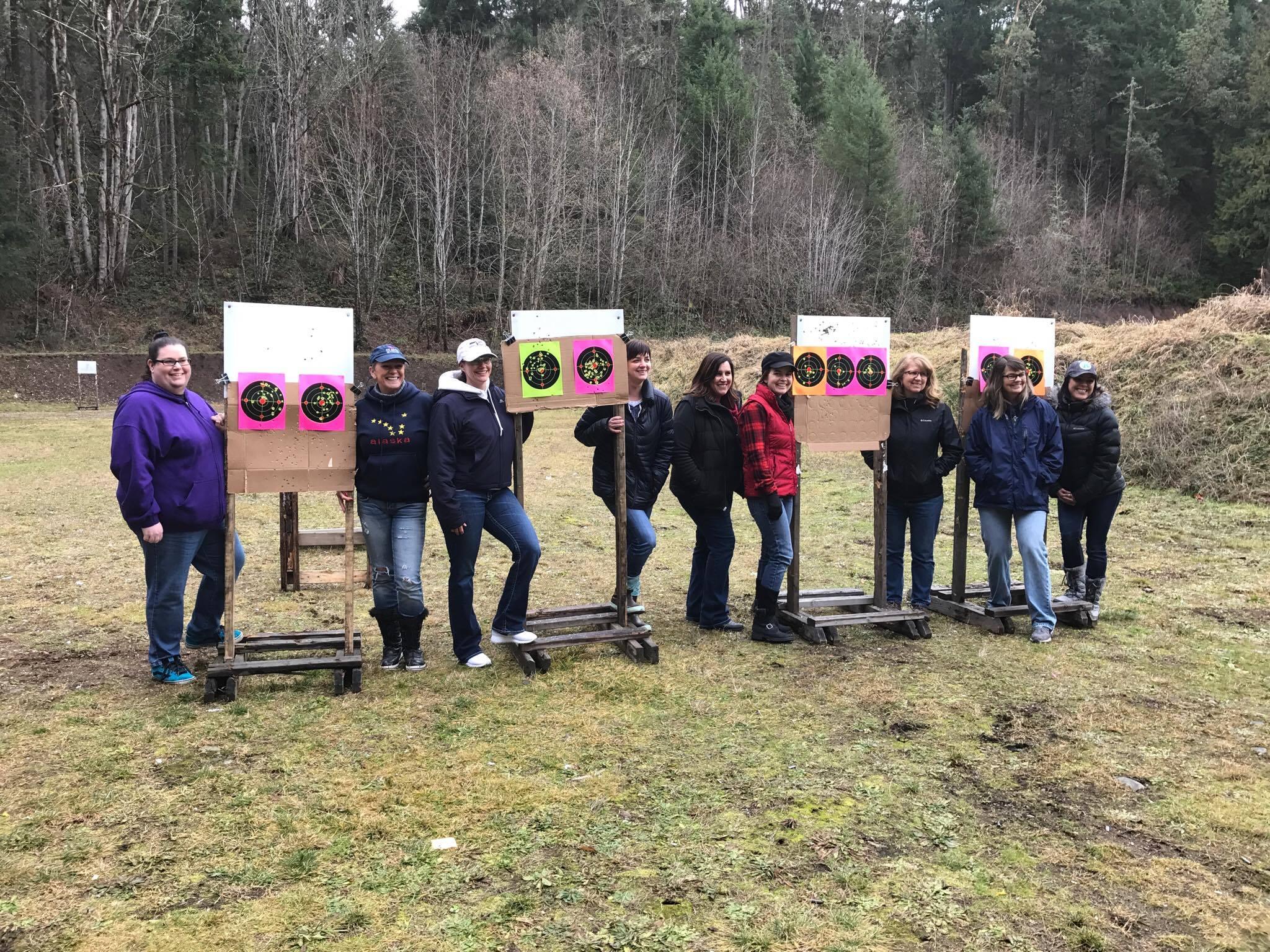 Tacoma Puyallup ladies women gun firearm pistol class