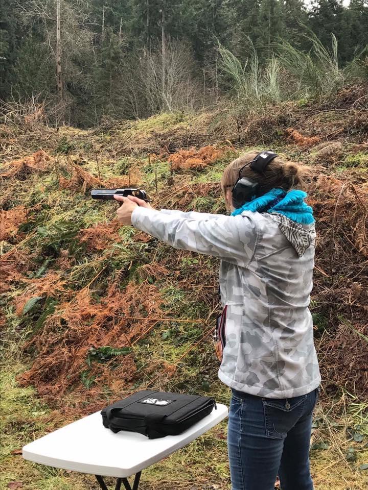 training basic pistol course gun