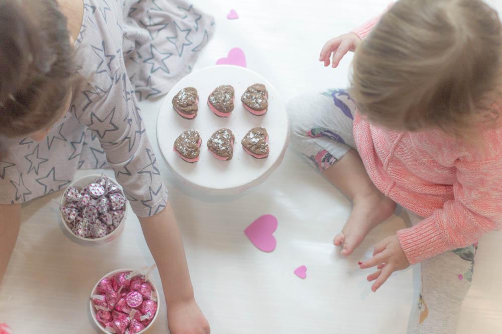 pop up play date valentines cookies