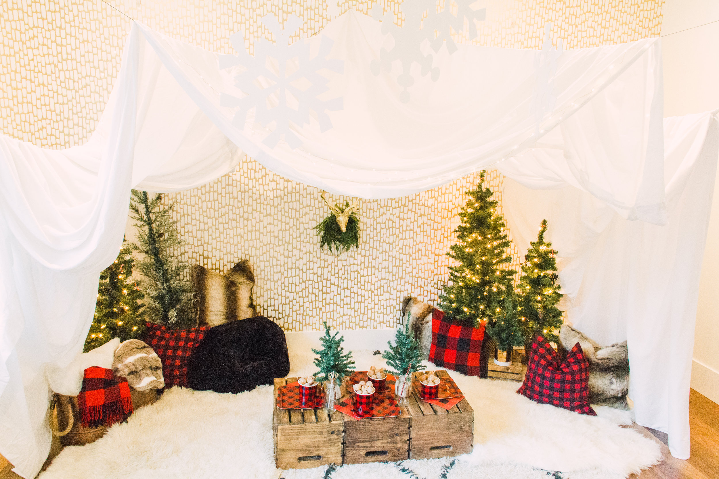Inspired by This - The Holidays are always magical and so was our