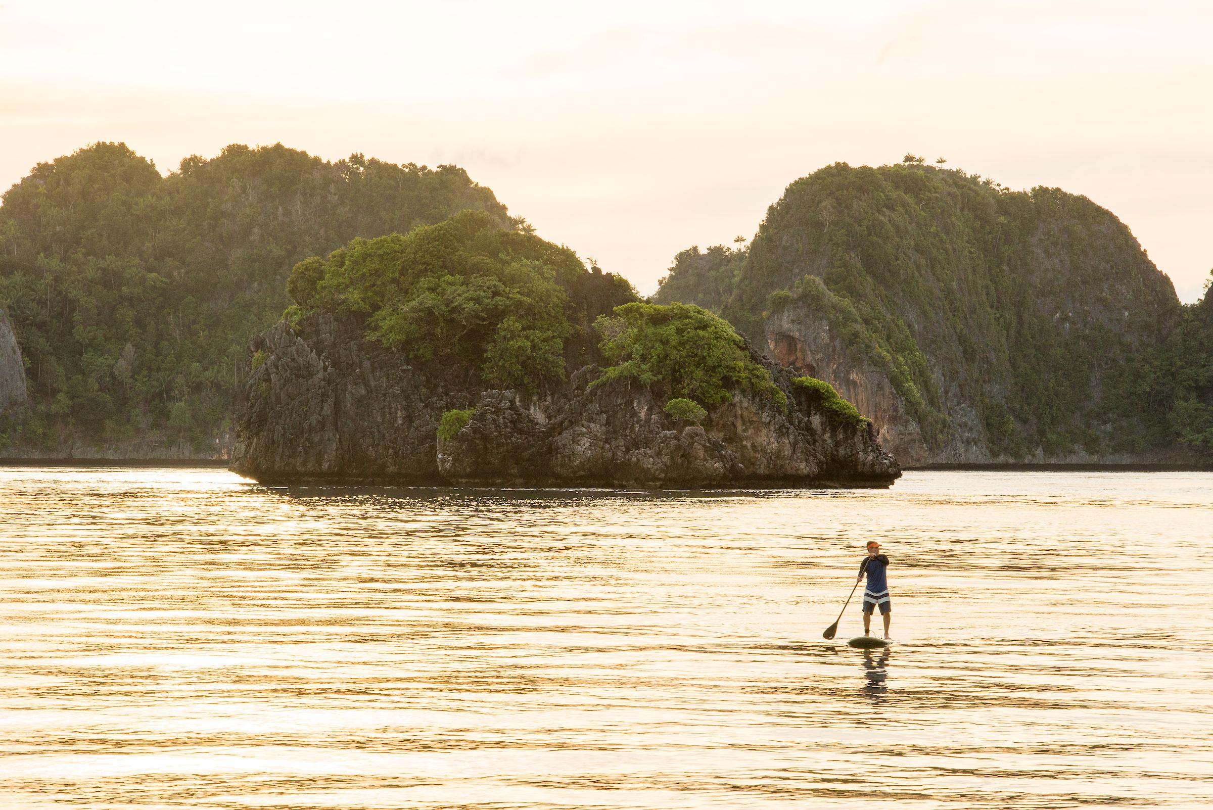 Paddleboarding in Raja Ampat   Indonesia Travel