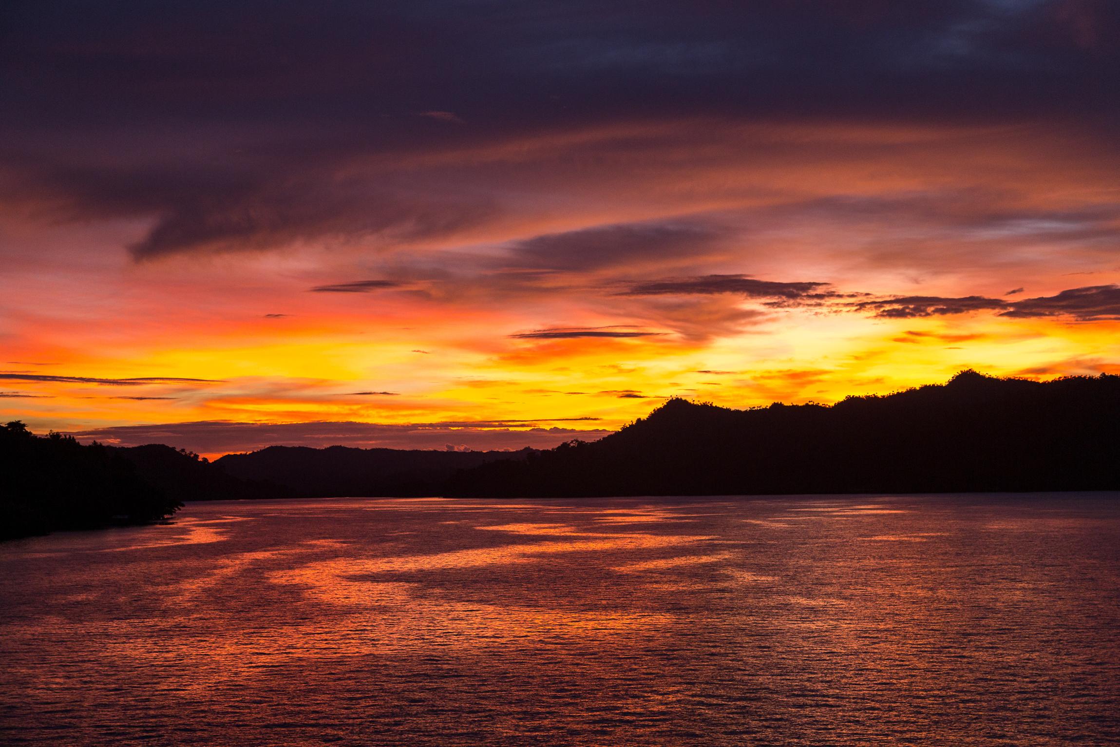 Sunset in Raja Ampat   Indonesia Tourism