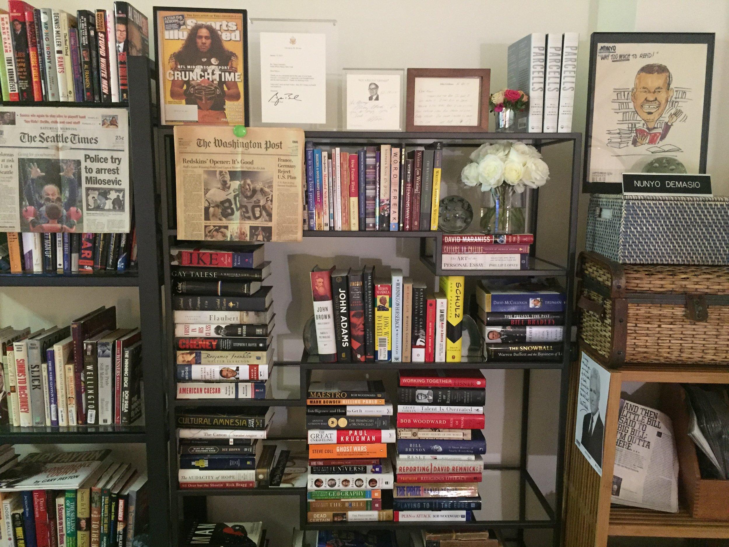 Alas, no more room on my bookshelf.