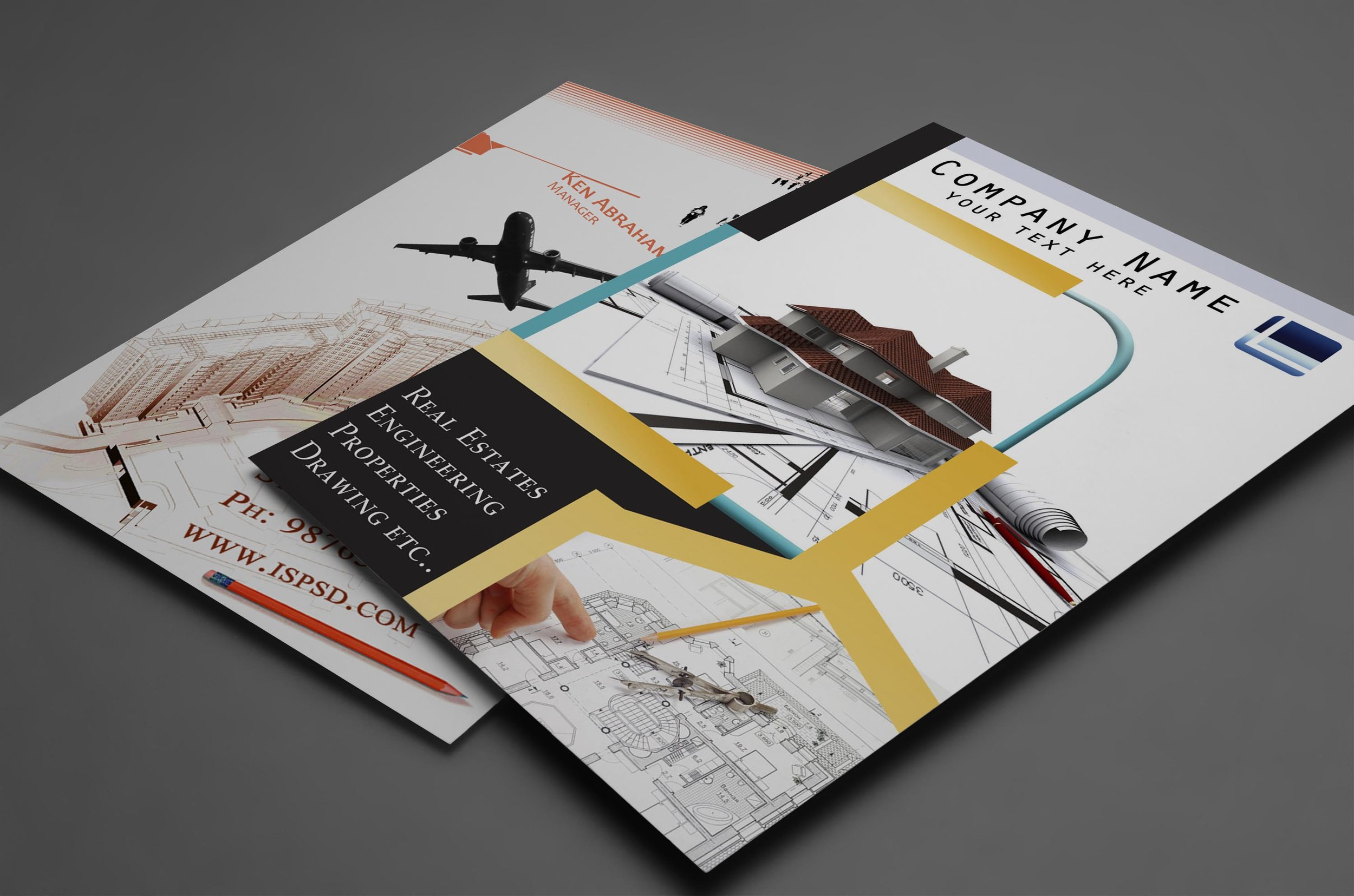 Get the word out about your business with custom flyers. Make it unique with full or half page sizes, colored paper and inks.