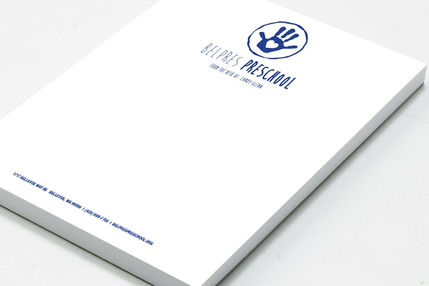 Stay top of mind with note pads customers will keep. Select from quarter page or half page sizes.