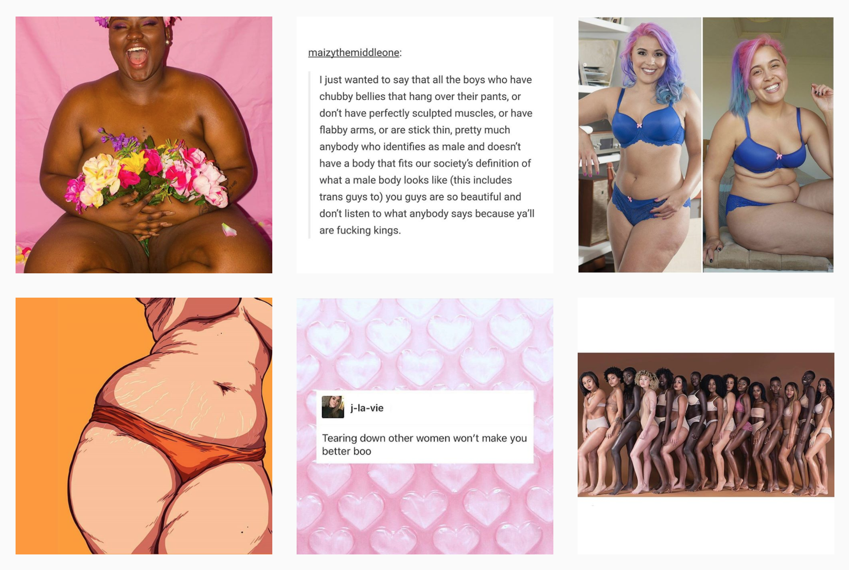 Megan Jayne Crabbe on Instagram as @bodyposipanda