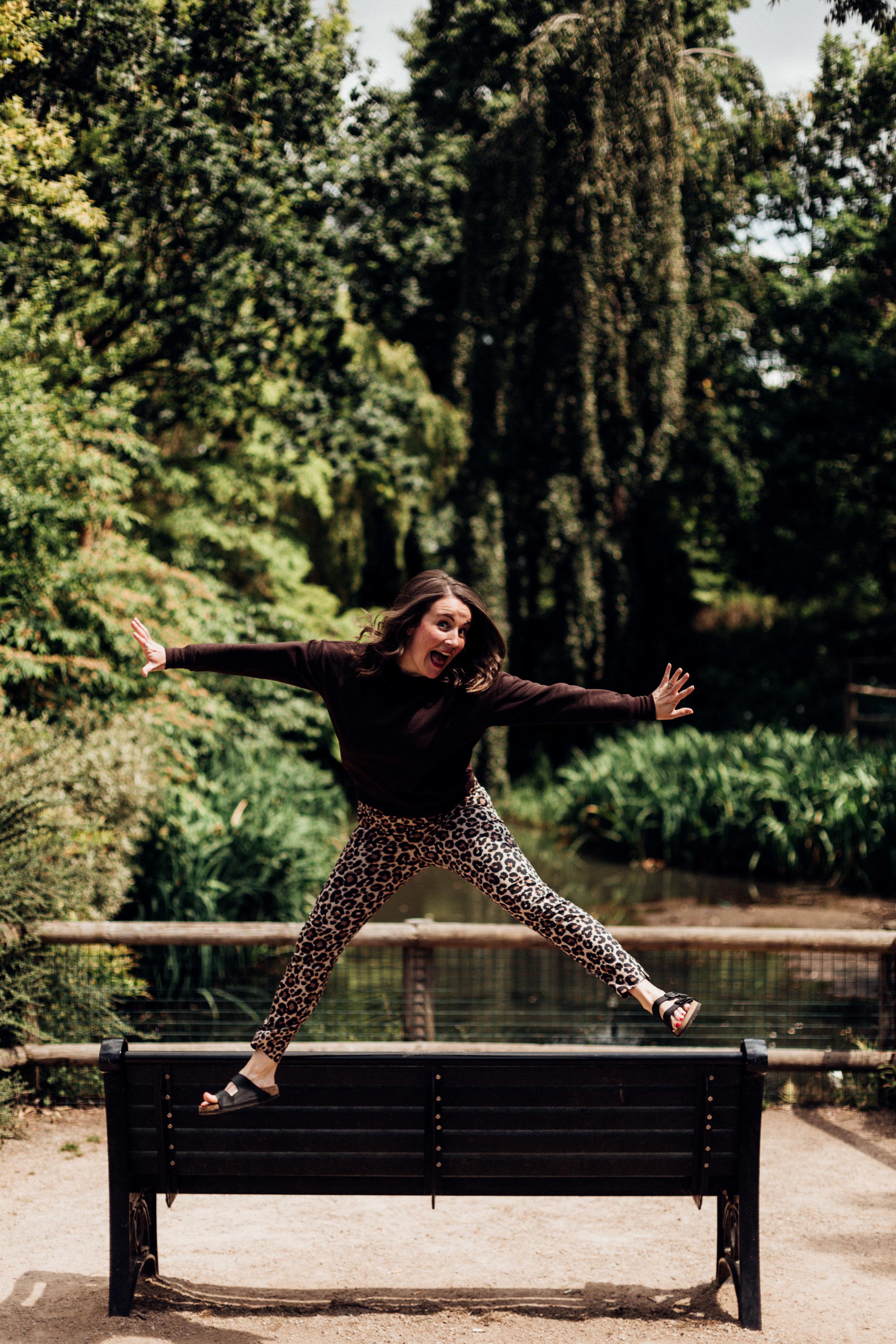 Kerry Lyons star jump