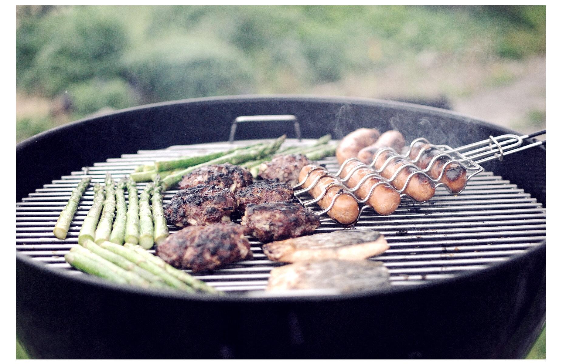 Carnation Filter - BBQ cooking sasages asparagus.jpg