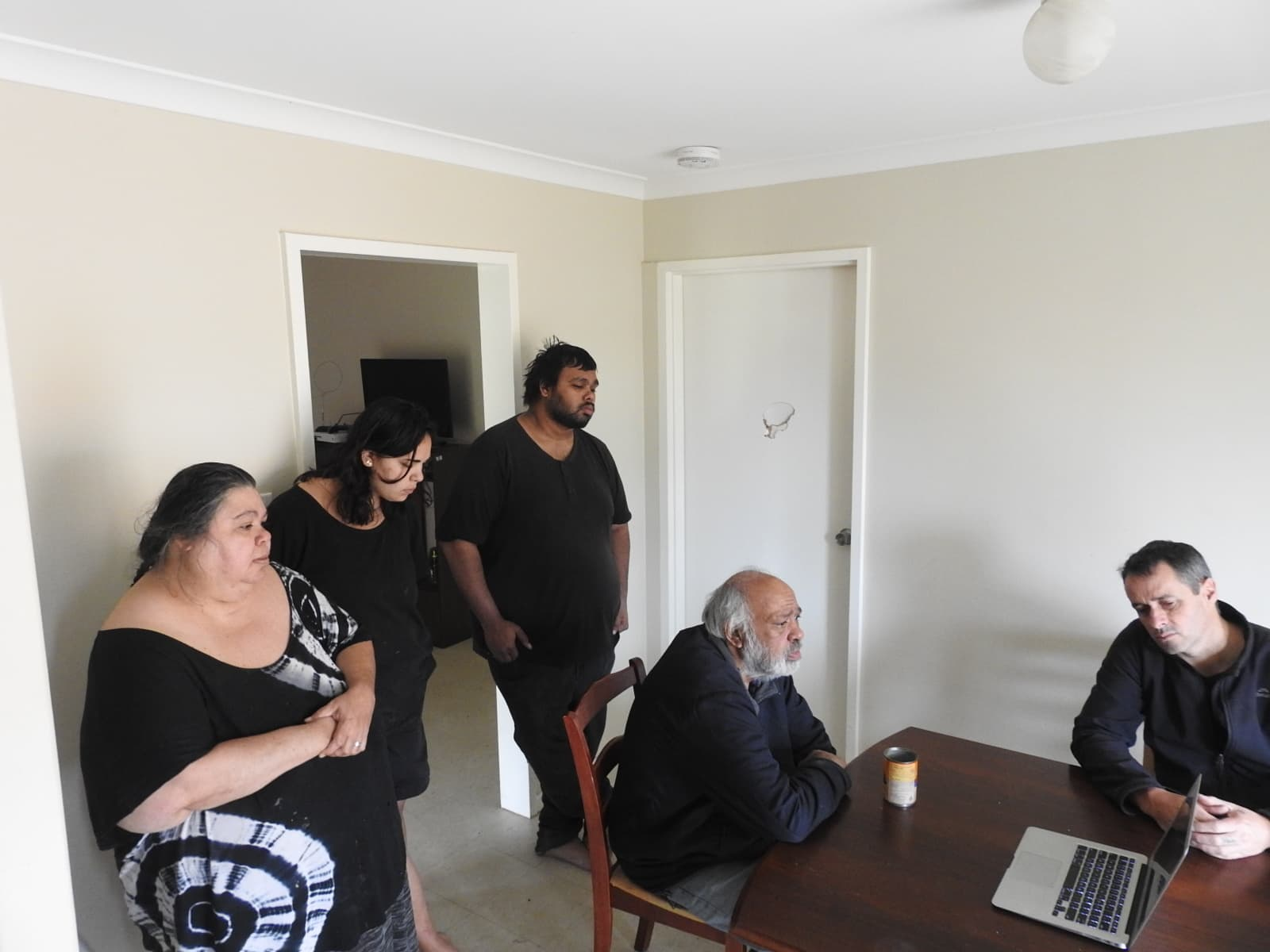 30 August 2018 - Richard Greatorex and Family review the final cut of Richard's story with Alexander Hayes.