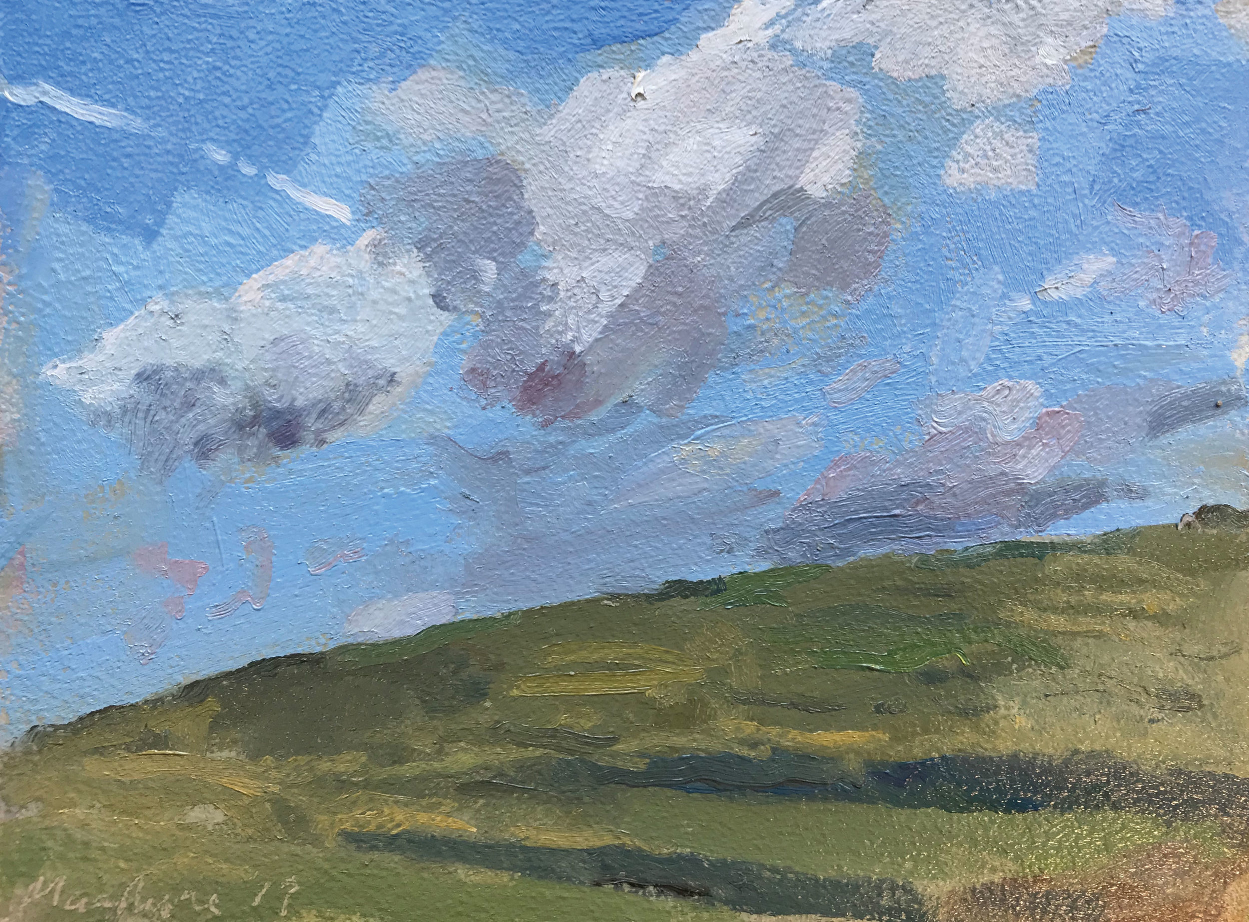 """CLOUDS OVER THE BROW   2018 