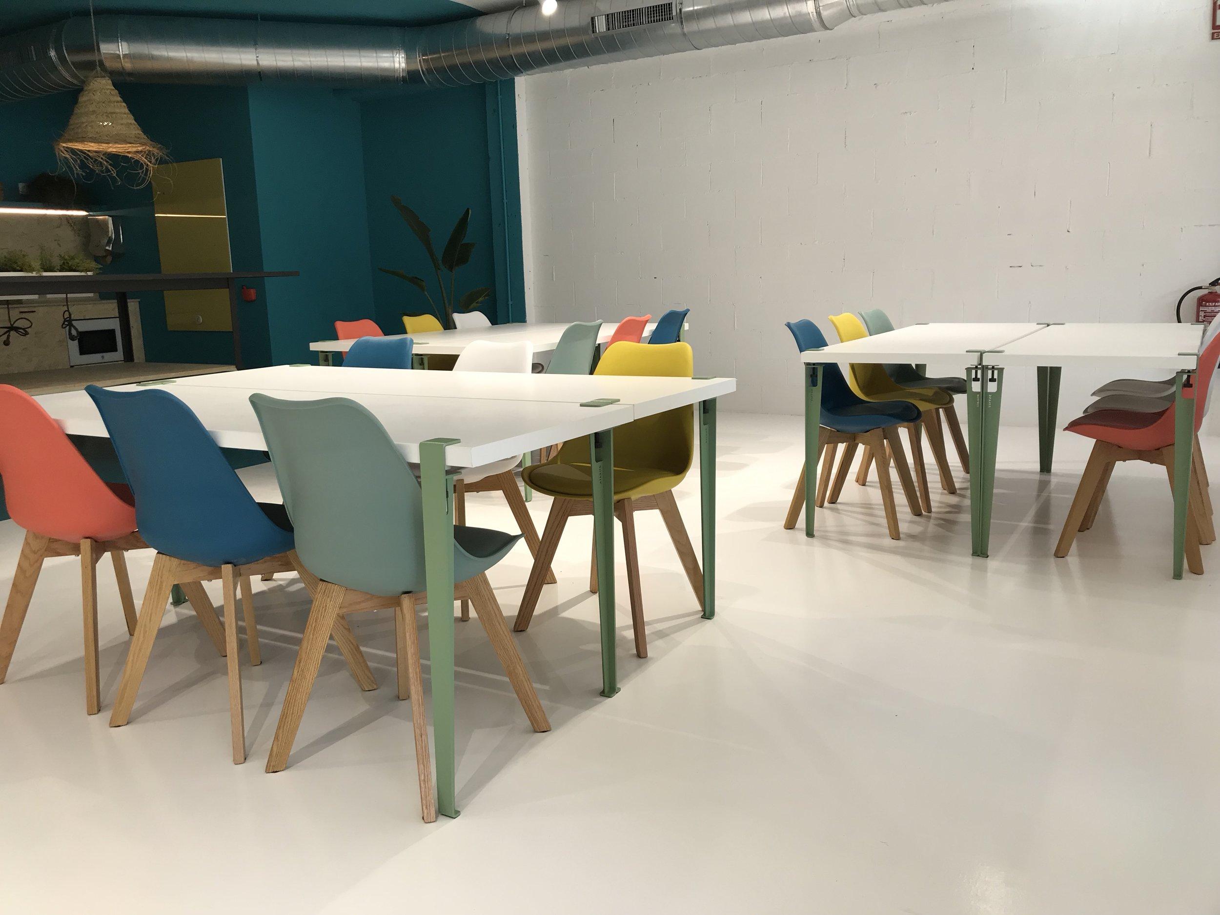 Espace workshop ultra modulable