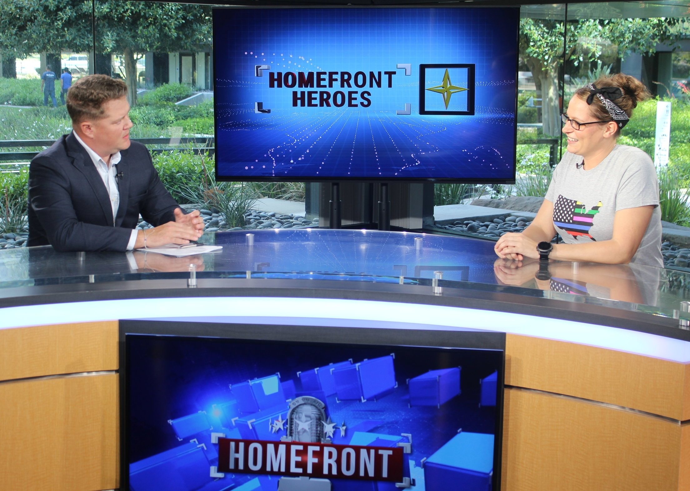 Aaron Brooks and Homefront Media
