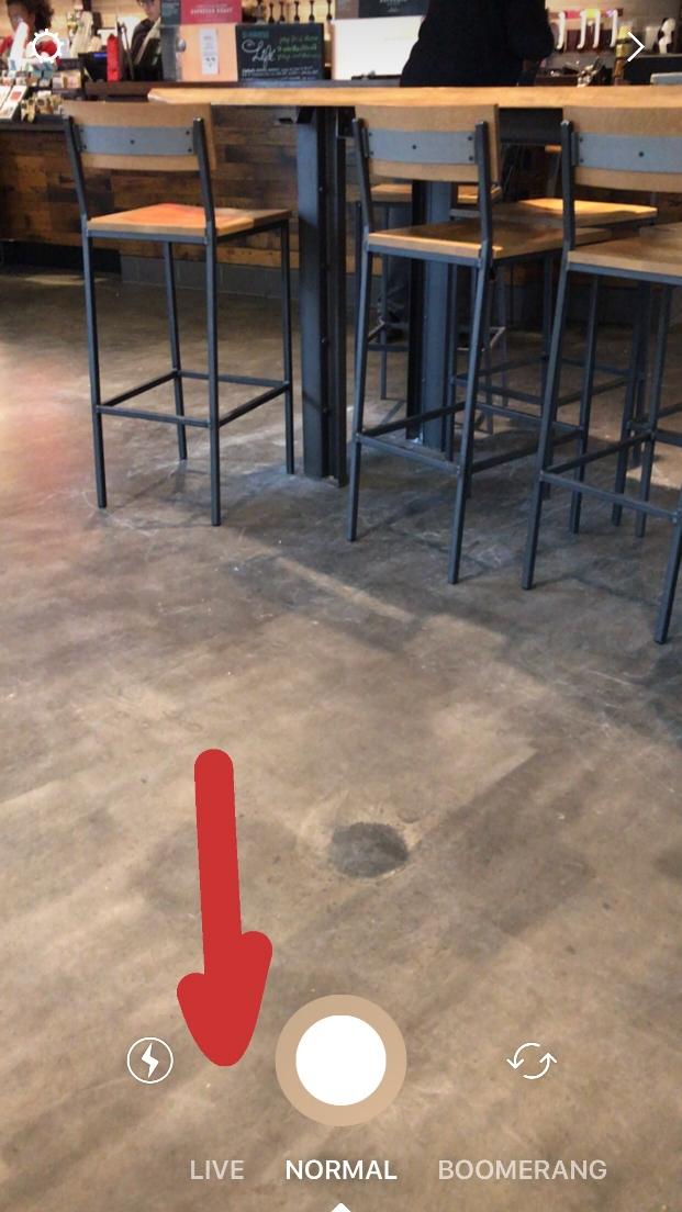 Forgive the beautiful floor of Starbucks.