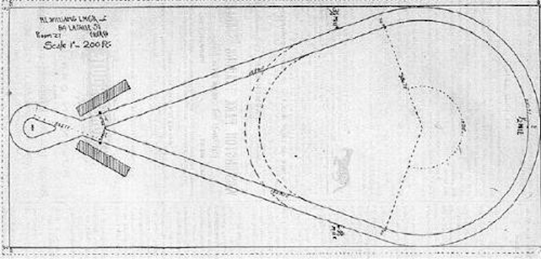 Dr. James McCoy's innovate kite track in Kirkwood made Delaware the speed capital of American horse racing.