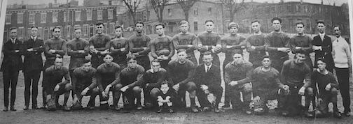 The Defiance Bulldogs were the state champion footballers of the early 1920s   and one of the last great semi-pro teams in the state.