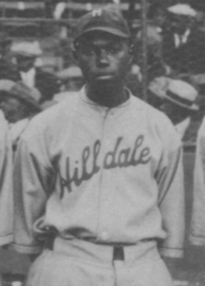 Judy Johnson, playing for the Hilldale   Daisies in the first ever Colored World Series in 1924. Johnson batted .364 in the Series and slugged .614 but the Daisies lost to the Kansas City Monarchs.