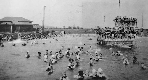 The Prices Run pool was the most popular recreation spot in the city of Wilmington for much of the first half of the 20th century. This shot is from 1926.