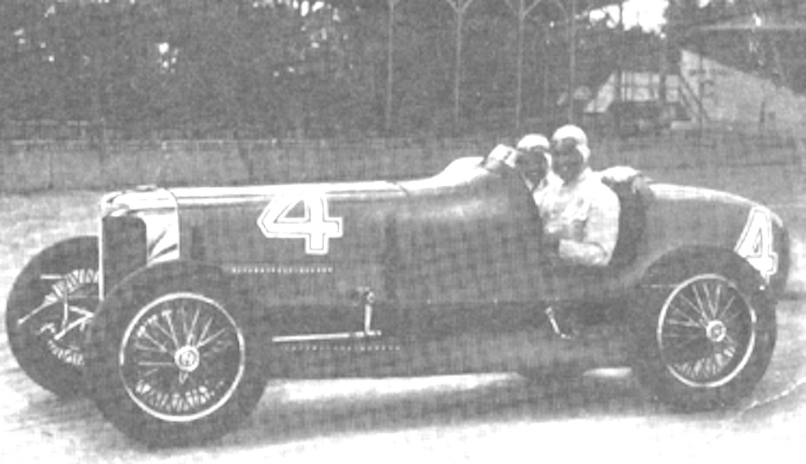 Russell Snowberger was the fourth-ranked American driver in 1931.  For the 1932 Indianapolis 500 he selected this Hupmobile Eight Comet for his ride.