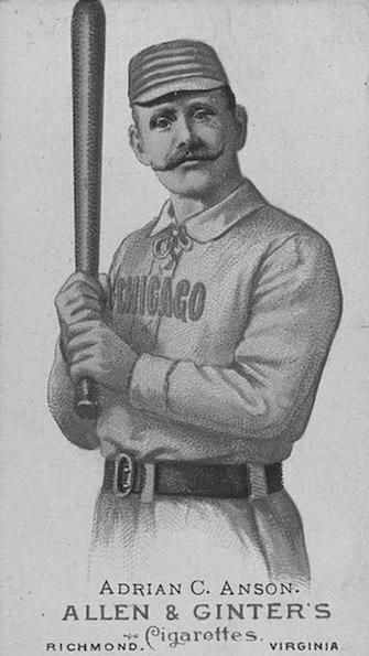 Cap Anson was the first Hall-of-Famer to play on Delaware diamonds.  Unfortunately for Dover he was wearing a Philadelphia uniform at the time.