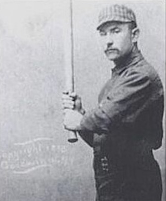 19-year old Oyster Burns led the   champion Wilmington nine at the plate in 1884 before embarking on an   11-year major league career.