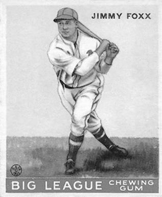 Slugger Jimmy Foxx got his start in the Eastern League.