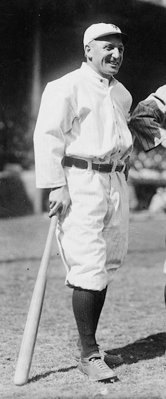 Hans Lobert was better known for his legs than his bat.